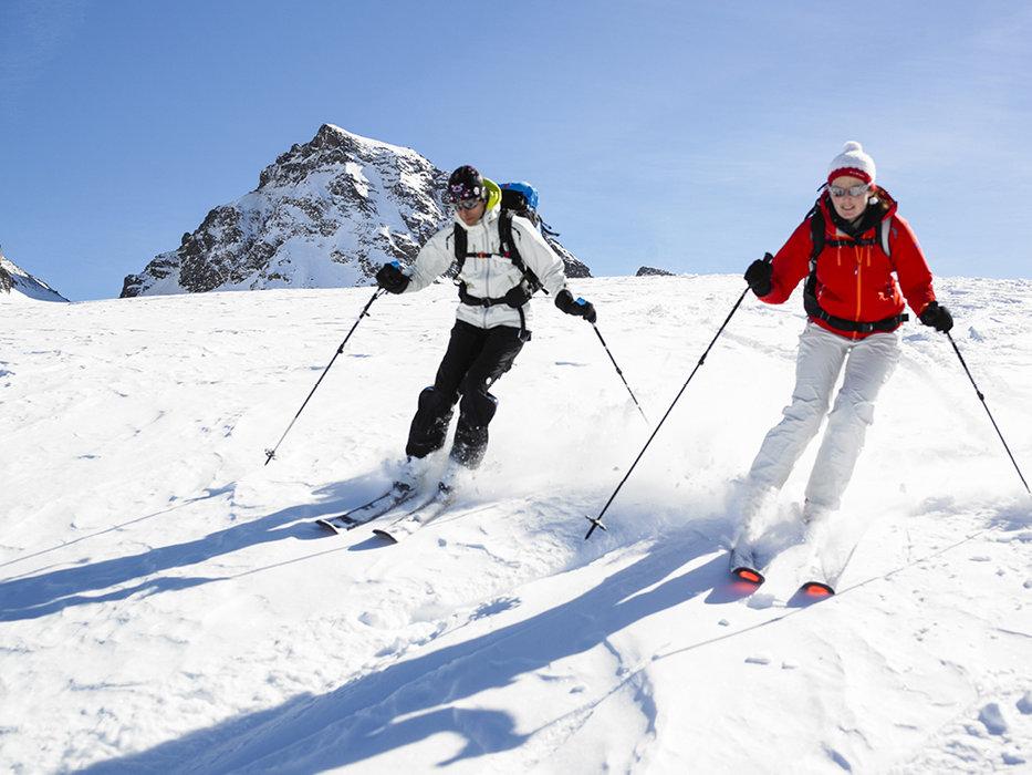 Pistes for everybody - © Skigebiet Silvretta-Bielerhöhle