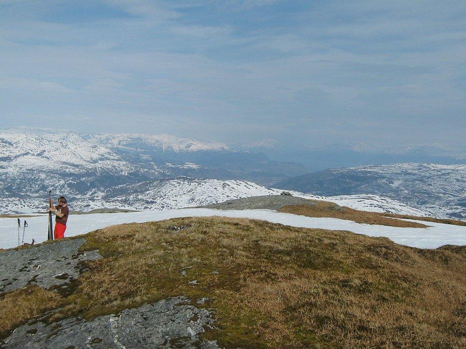 på toppen - Gråskorvenuten | Johannes - © Margaret @ Skiinfo Lounge