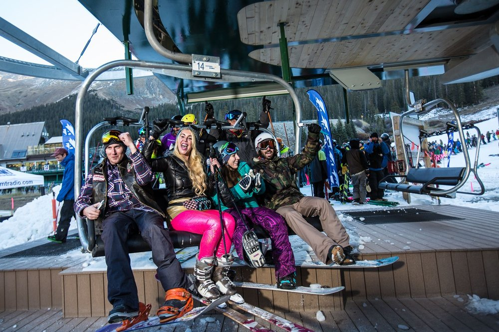 Arapahoe Basin Ski Area kicks off the Colorado ski and snowboard season! - ©Dave Camara/Arapahoe Basin Ski Area