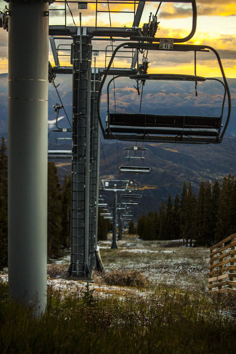 A little mix of fall and winter for Aspen/Snowmass. - © Vital Films