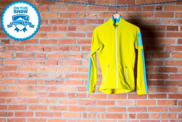 2015 women's mid layers Editors' Choice: Icebreaker Atom Long Sleeve Zip  - © Liam Doran
