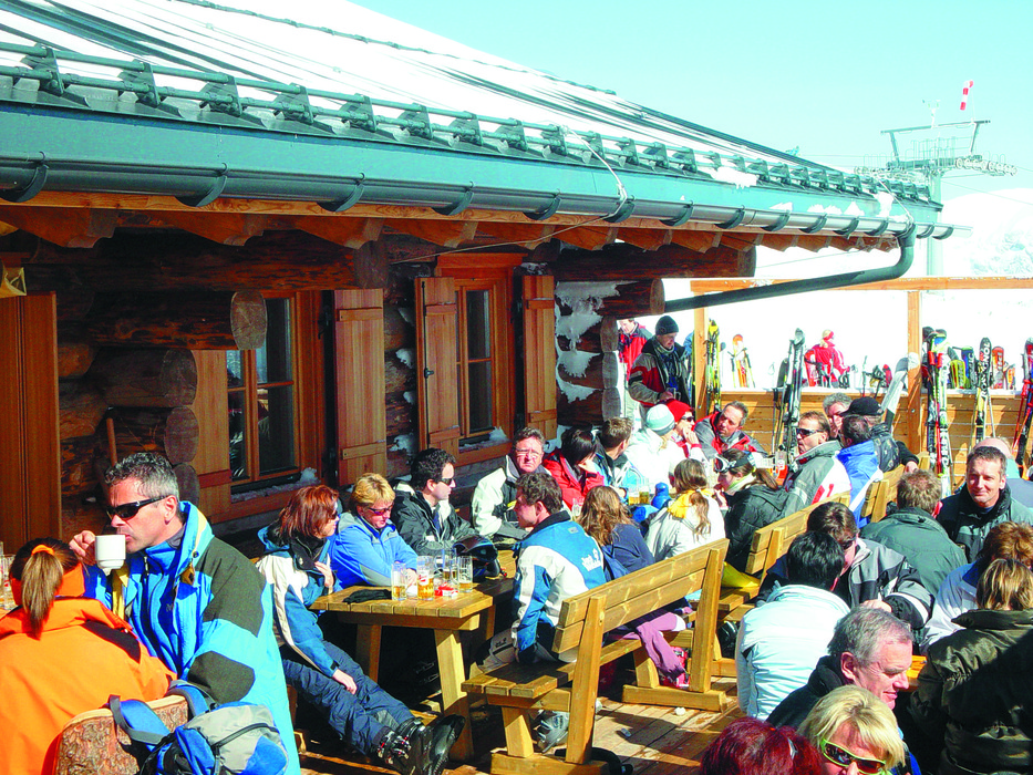 Mountain restaurant in Tauplitz
