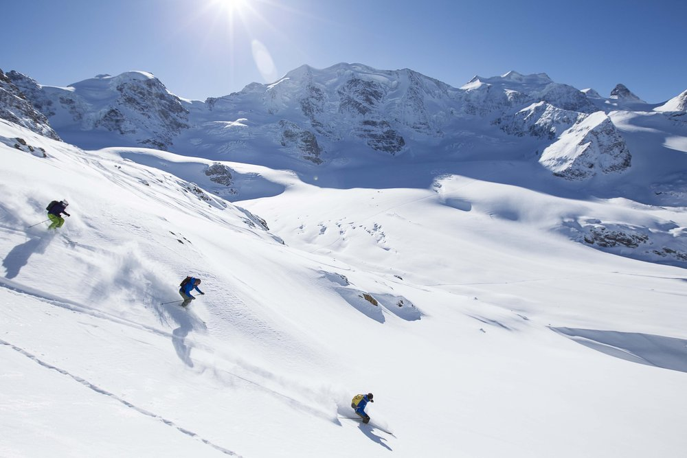 Best conditions in Engadin/St. Moritz - © swiss-image.ch/Andrea Badrutt