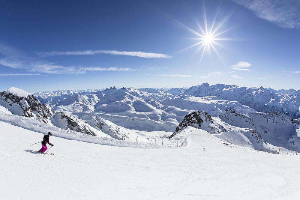 Les premiers skieurs de la saison sont attendus sur les pistes de l'Alpe d'Huez dès ce week-end... - © L.Salino
