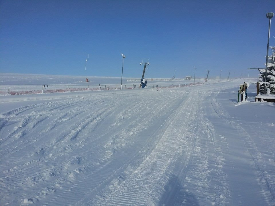 Boží Dar - Novako, 15 cm of fresh snow (28.11.2014)