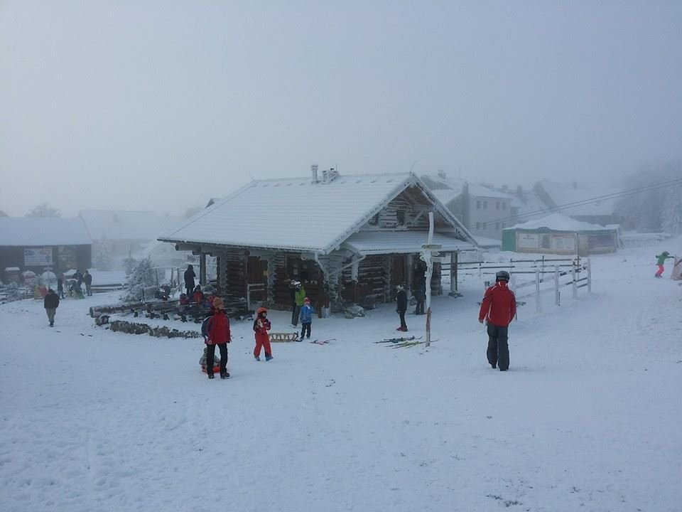 Novako na Božím Daru: První lyžovačka zimy 2014/15 (29.11.2014) - © facebook.com/Novakoareal