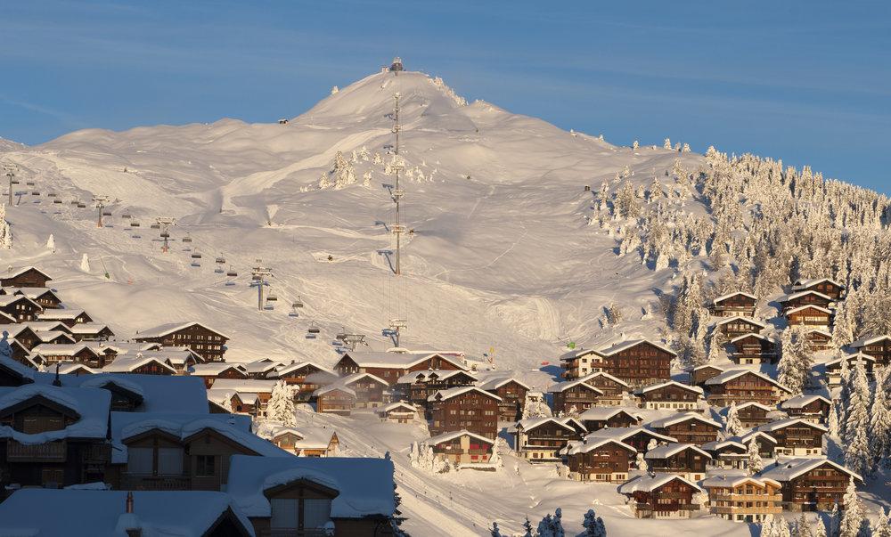 Das Skigebiet Aletsch Arena - © Aletsch Arena