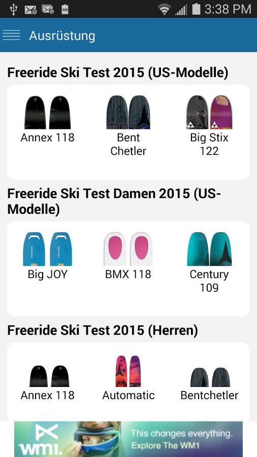 skiinfo tools im winter 2015 2016 schneeh hen widgets app mehr. Black Bedroom Furniture Sets. Home Design Ideas