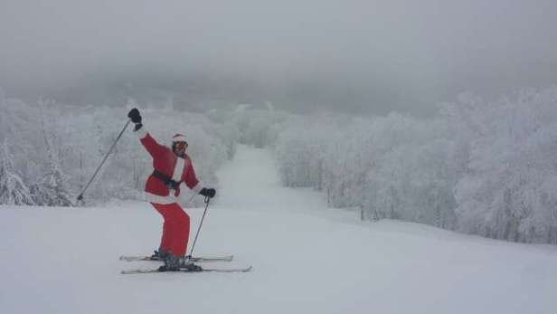 Skinny Santa had a great time skiing today at Belleayre! Superchief was being naughty for the first 2 hours.. but it got fixed and christmas-eve-eve-eve-eve-eve-eve-eve-eve-eve-eve-eve-eve-eve was saved - ©carltabor1