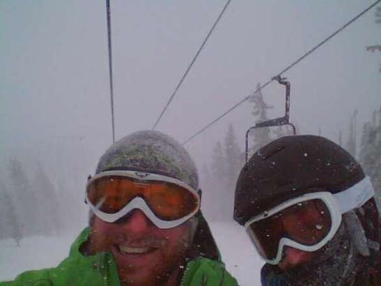 We got a February storm in December! dropped awesome powder all day.
