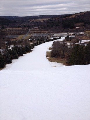 Went today Friday it was lots of Loose Granular soft stuff by noon. No crowds!