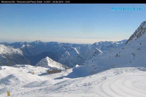 Gressoney La Trinitè, 23 dic 2014 - © Monterosa Ski