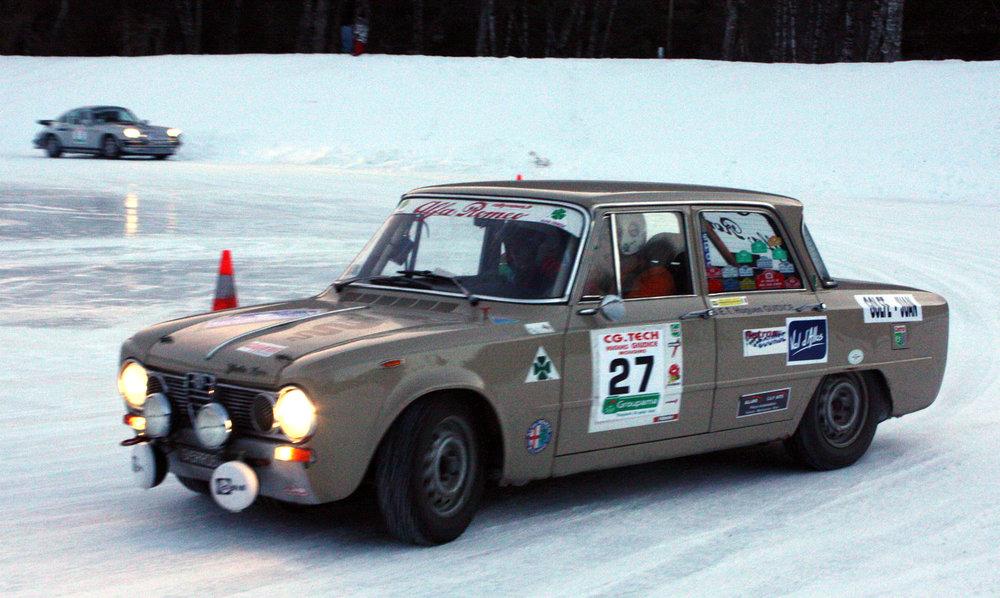 12° Rallye Hivernal Classic - Val d'Allos / Samedi 10 janvier 2015 - ©Office de Tourisme du Val d'Allos - Yoann SBLANDANO