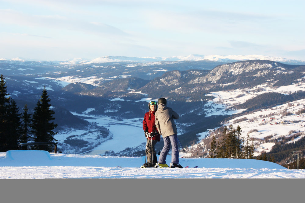 Views from the slopes of Hafjell, Norway - ©Hafjell