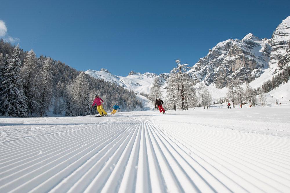 Skifahren in Schlick 2000 - © Tourismusverband Stubai Tirol | André Schönherr