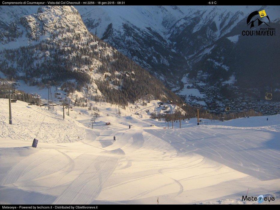 Courmayeur, 19 Gen 2015 - © Courmayeur Mont Blanc