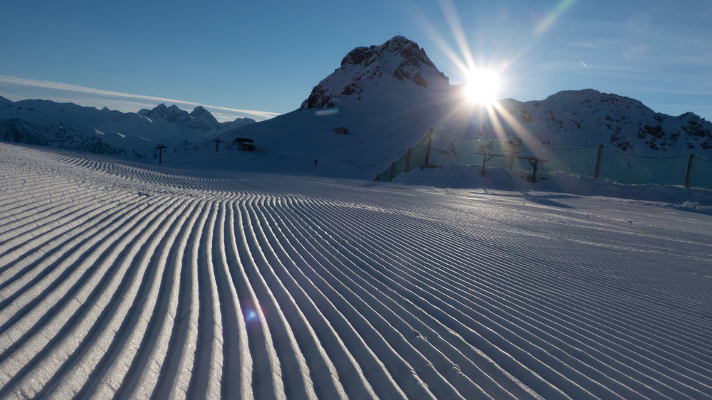 The pistes in Fellhorn-Kanzelwand are best-prepared - © Fellhornbahn GmbH