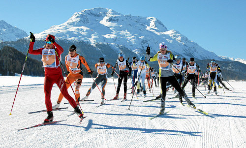 Engadin Skimarathon Frauenlauf - © 16. Frauenlauf