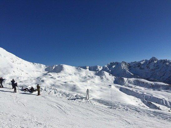 Giornata bellissima!!!! Ottima neve e tnt sole!!!
