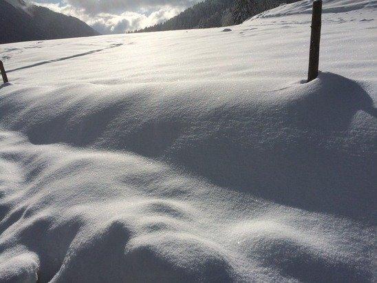 40 cm de neige, station ouverte. Le 25/01/2015
