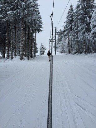 Neige pas encore le top mais ça va venir !