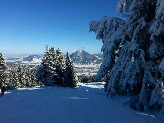 heute die besten Bedingungen zum Skifahren