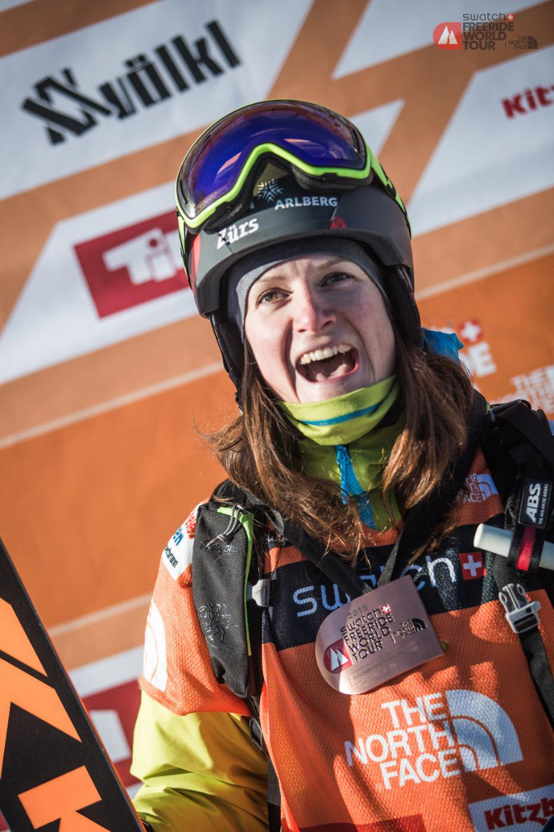 Freeride World Tour 2015 Fieberbrunn - ©©freerideworldtour.com / mia Maria Knoll