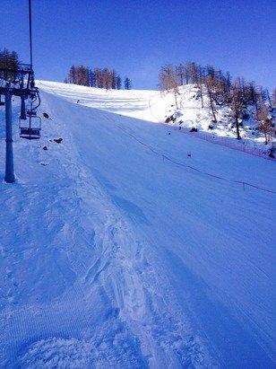 Bellissima neve ieri e giornata stupenda! Poche piste ma ottime!!!