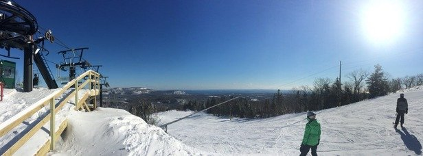 Unbelievable day Really good. Snow was great. Lift was fast. Views were unbelievable.