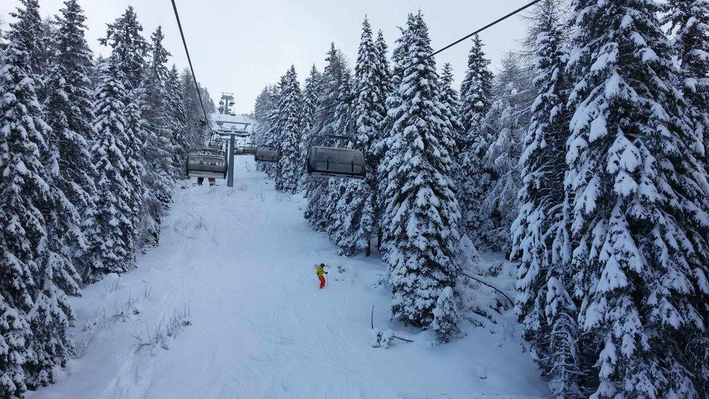 Zima plná zábavy v areálu Paganella - © Consorzio Skipass Paganella Dolomit