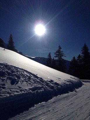 Traumhaftes Wetter & mega Schnee