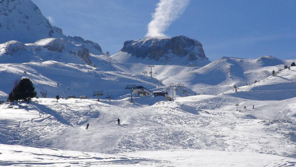 Vue sur la secteur du Sommarel (domaine skiable de Superdevoluy) - © Stéphane GIRAUD-GUIGUES / Skiinfo.fr