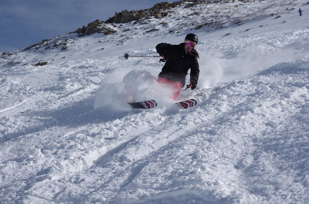 Tips up! - © Arapahoe Basin Ski Area