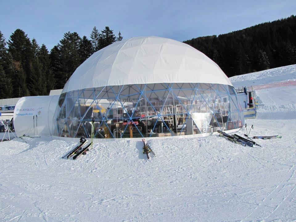 Biblioigloo di Andalo - Fai della Paganella, una biblioteca sulla neve!  - © Andalo