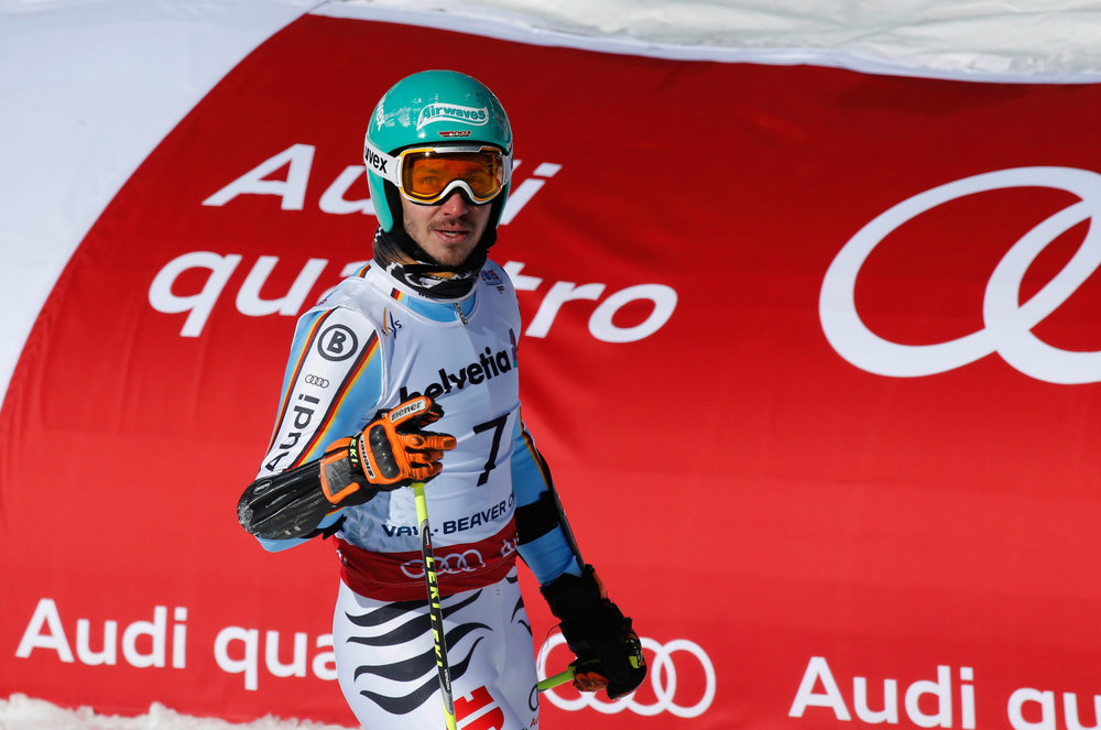 Felix Neureuther wurde im Riesenslalom Vierter - © Audi Media-Service