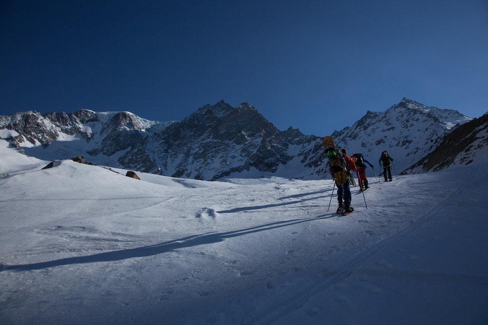 Freeride Haute Route -  Królowa wśród tras skitourowych - wrażenia freeriderów  - © Die Freireiter / Vaude