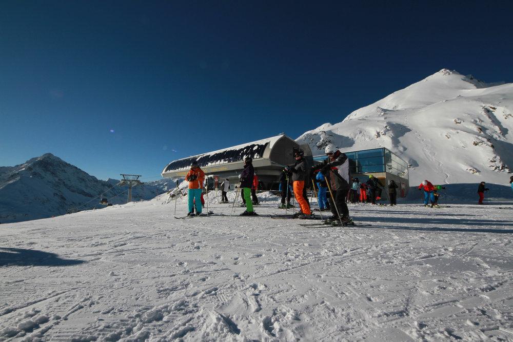 Skifahren in Kühtai - © Skiinfo