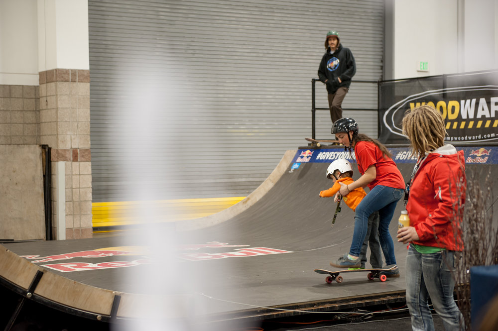 Startin' em young at the Woodward skate spot. - © Ashleigh Miller Photography