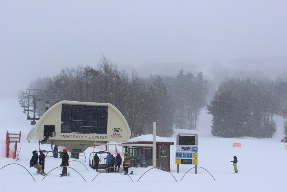 When it snows it pours at Wachusett. - © Andrew Santoro
