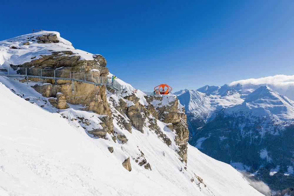 Der Felsenweg bietet neue Perspektiven - © Bergbahnen Gastein AG