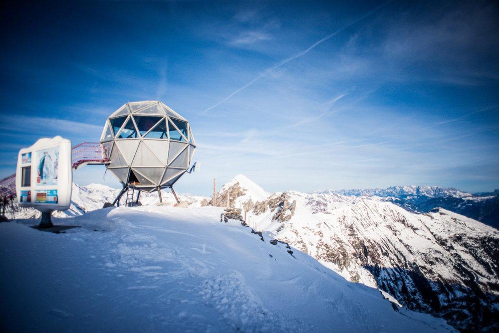 Fast surreal erscheint die Schönheit der Berge - © Bergbahnen Gastein AG
