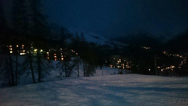 Puy Saint Vincent - un temps un peu aléatoire,, une neige très correct, un séjour nickel! - © girit31