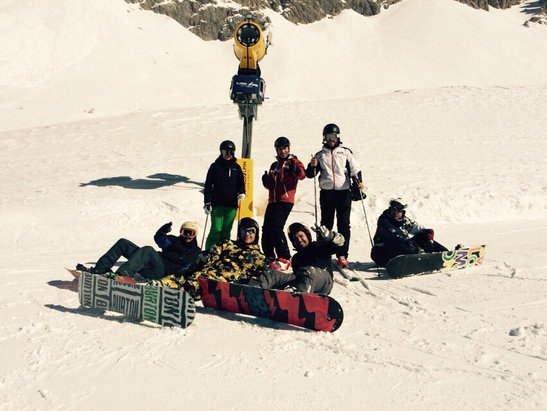 Obereggen - Pampeago - Predazzo - [! skireport_firsthandpost_pagetitle ] - © iPhone di Michele