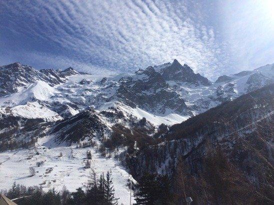 La Grave la Meije - [! skireport_firsthandpost_pagetitle ] - © iPhone de Olivier