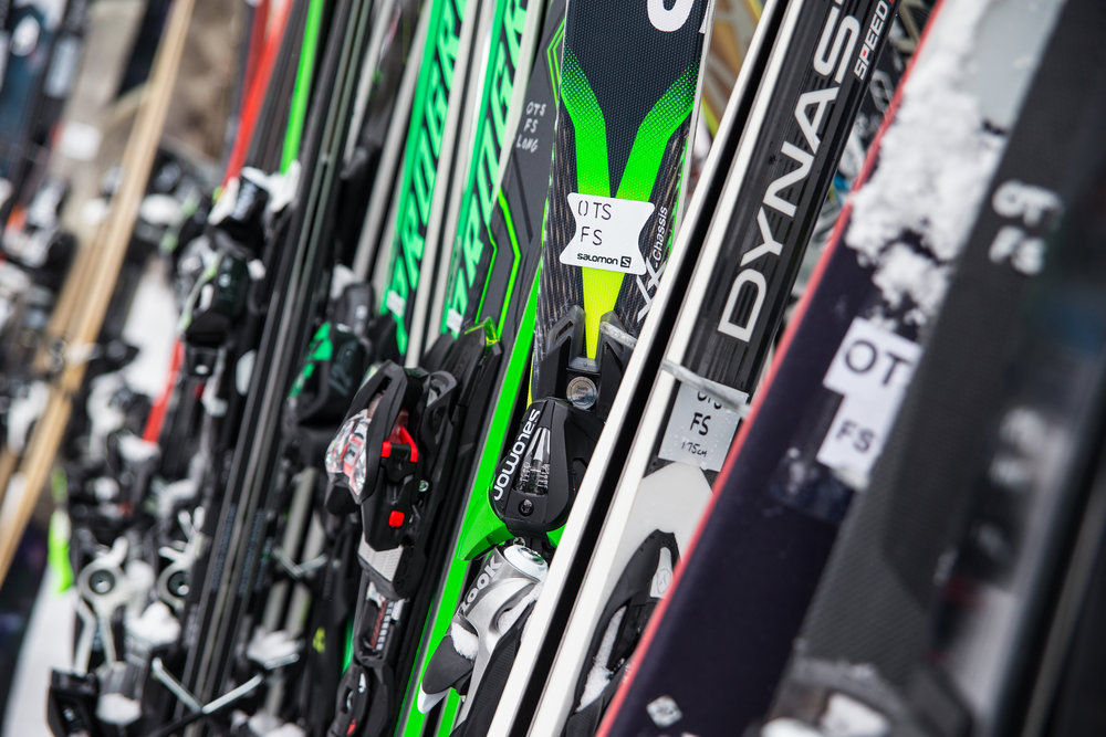 Our Frontside fleet for Ski Test 2015/2016. - © Liam Doran