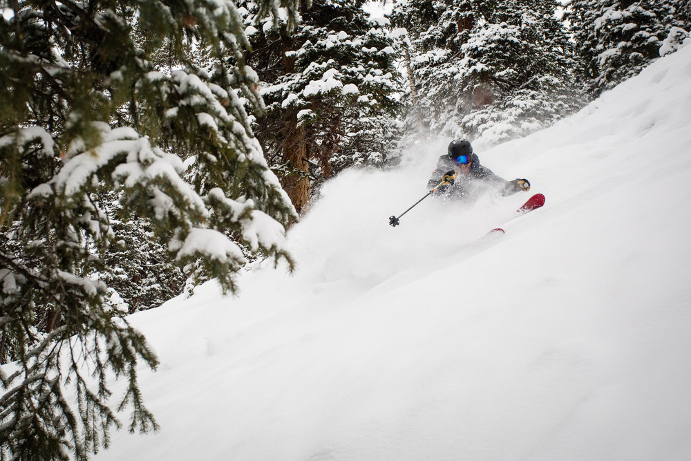 It's a good time to be a glade lover at Aspen Snowmass. - © Jeremy Swanson / Aspen Snowmass