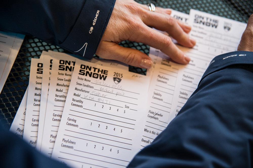 Skis tests 2017 - © Liam Doran