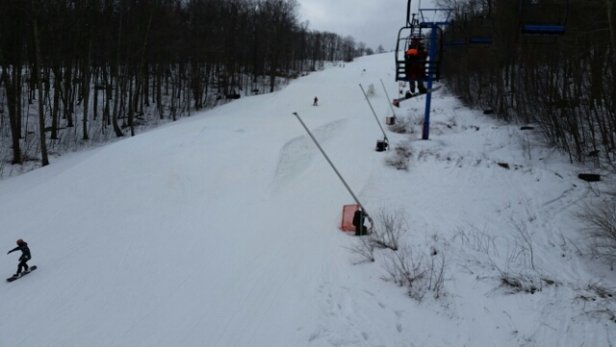 Shawnee Mountain Ski Area - Good for mid March! plenty of coverage and lots of soft snow. - ©kevin.borecki
