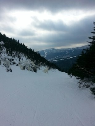 Smugglers' Notch Resort - Awesome view of Stowe side from Smuggs. - © lazzman007