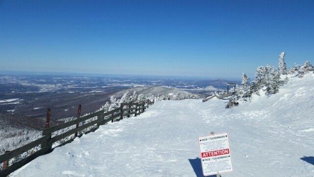 Jay Peak - Wow quel belle journée pour du ski en fin Mars c'est exceptionnel ici.  - © simonj